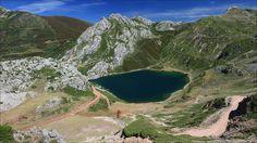 Lago de la Cueva - Lago de la Cueva -  Parque Natural de Somiedo - Asturias - Spain