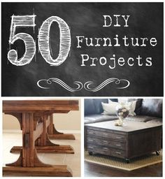 http://www.shanty-2-chic.com/category/furniture Lots of cure furniture projects