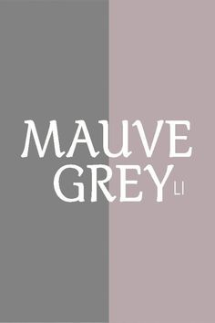 Hi ladies ❤ sorry I'm posting so late. Lots going on, and my search engine is really messed up. Only giving me my own pins and very limited boards to chose from. MAUVE and GREY. Room Paint Colors, Interior Paint Colors, Paint Colors For Home, House Colors, Home Interior Design, Bedroom Colour Palette, Bedroom Color Schemes, Bedroom Colors, Bedroom Decor