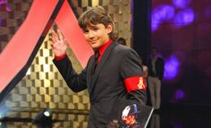 Prince Michael Jackson (age 14) in 2011 at Bambi awards