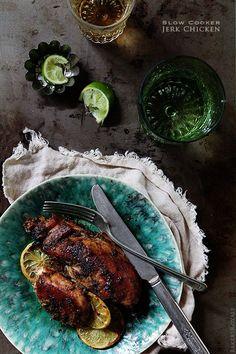 Slow Cooker Jerk Chicken via Bakers Royale