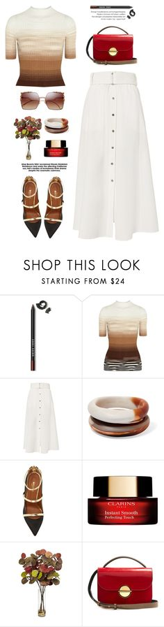 """OOTD"" by yexyka ❤ liked on Polyvore featuring Bobbi Brown Cosmetics, Missoni, A.L.C., Dinosaur Designs, Malone Souliers, Clarins, Nearly Natural, Marni and Chanel"