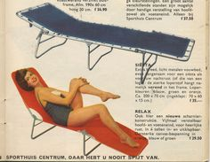 Relax - from the summer camping catalog of 1961
