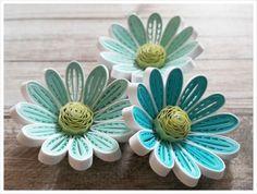 종이감기 꽃들입니다.도구를 사용하면 다양하게 응용해 만들수 있어요. 종이감기는 간단한 테크닉만 익히면...
