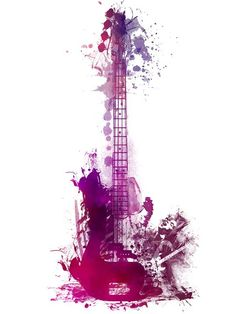 Happy Guitar Instrument by Justyna Jaszke JBJart - Best of Wallpapers for Andriod and ios Music Drawings, Music Artwork, Art Drawings, Guitar Drawing, Guitar Art, Guitar Tattoo, Music Wallpaper, Iphone Wallpaper, Arte Quilling