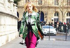 Hanne Gaby Odiele in Dries van Noten | #hannegabyodiele #driesvannoten #fashion #inspiration #brownsfashion