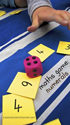 Maths Numerals Card Game LessonsLearntJournal
