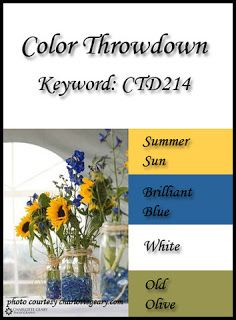 Color Inspiration: Color Throwdown #214