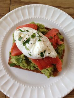 Avocado Toast with Smoked Salmon and Poached Egg