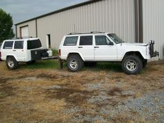 my wierd wj/xj hatch-on-a-xj trailer project - NAXJA Forums -::- North American XJ Association Truck Bed Trailer, Jeep Vehicles, Overland Trailer, Custom Trailers, Jeep Camping, Jeep Mods, Jeep Cherokee Xj, Off Road Camper, Jeep Parts