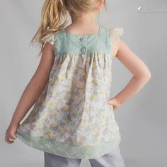 Fair & Square - Square Neck Top and Dress Pattern for Girls - Tie Dye Diva Patterns Pinafore Dress Pattern, Peasant Dress Patterns, Girl Dress Patterns, Amber Lynn, Square Neckline Dress, Amanda, Jumper, Dolly Dress, Sewing Patterns Girls