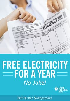 I just entered to win free energy for a year!  Try your chances! http://www.winfreeenergy.com/?r=1398