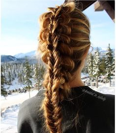 stacked braid - Google Search