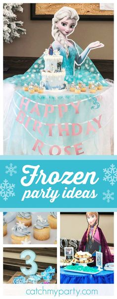 Disney Frozen Birthday Birthday Princess Amelias Frozen Birthday
