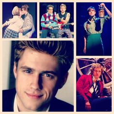 Aaron Tveit <3  Whether he's covered in hairspray, singing for his rent, dancing through life, or singing the song of angry men, he is always capTveitingly beautiful <3