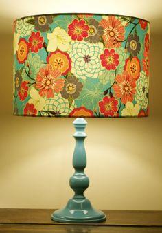 Reverie handmade lampshade by www.sweemei.co.uk #japanese #kimono