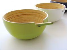 Fair trade bamboo bowls from Ekobo.