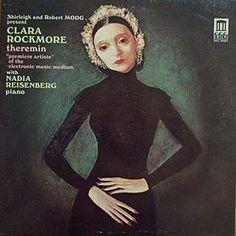 Album cover: Clara Rockmore, master thereminist.