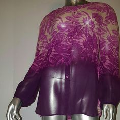 Selling this YOANA BARASCHI ANTHROPOLOGIE Silk Top Sz XS in my Poshmark closet! My username is: kostkutter. #shopmycloset #poshmark #fashion #shopping #style #forsale #Anthropologie #Tops