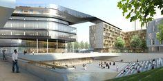 DMAA vence competição para Complexo Cultural em Munique,© DMAA