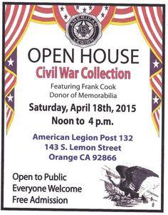 Orange Post 132 has a wonderful Civil War collection!