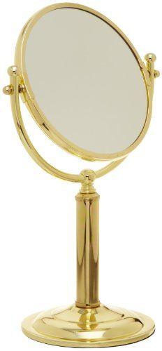 Taymor Polished Brass Countertop Vanity Mirror Taymor Ind...…