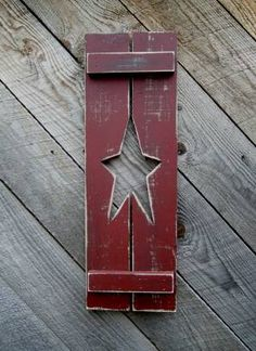Decorative Rustic Primitive Country Shutters by Raystown Primitives!