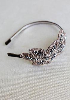 Priscilla Beaded Headband By Petit Plume