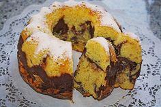 Quark - Bananen - Marmor - Gugelhupf, ein schmackhaftes Rezept mit Bild aus der Kategorie Backen. 67 Bewertungen: Ø 4,1. Tags: Backen, Kuchen