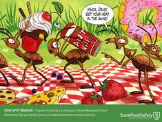 Tips for implementing an effective food safety management system at the restaurants and grocery stores you manage. Safety Cartoon, Safety Management System, Food Safety, Cartoon Images, Restaurants, Cartoons, Tips, Cartoon, Cartoon Movies
