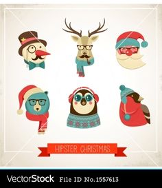HIPSTER christmas card