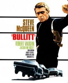 Bullitt (1968) movie #poster, #tshirt, #mousepad, #movieposters2