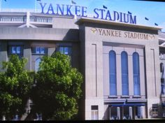 I have been to Old Yankee Stadium, but I am ready for a trip to the New Stadium!!