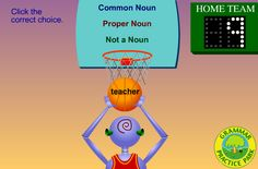 Interactive Education: Noun Dunk