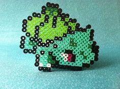 Pokemon Perler Bead Bulbasaur by GeektasticCrafts on Etsy, $3.00