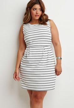 b937b011ac Textured Stripe Sheath Dress