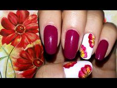 Idea per S. Valentino: One stroke flower