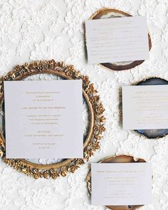 Wedding Stationery That Isn't Girly | Martha Stewart Weddings