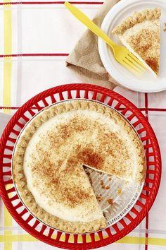 This sugar cream pie is an easy pie recipe! Bake the best cream pie using a premade pie crust, cinnamon, vanilla, and half-and-half cream. You will love baking this cream pie for dessert!