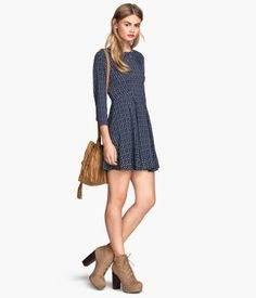 Don't prefer the shoes or the length of the dress, but great design.    Product Detail   H&M US