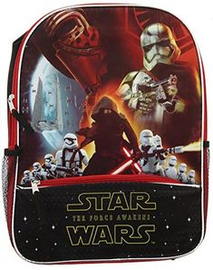 star wars ep7 16 inch backpack with pencil case dark side star wars
