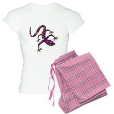 Purple Patchwork Lizard Pajamas     Find this design and others on a variety of products. #designedwithtlc