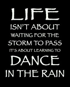 This was MY quote  and I think I have danced PRETTY FUCKING WELL if you ask me...