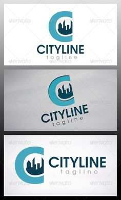 City Letter C Logo — Vector EPS #internet marketing #build investment business • Available here → https://graphicriver.net/item/city-letter-c-logo/6435860?ref=pxcr