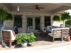 brick patio 125 Woodfield Green  Danville, IN, 46122