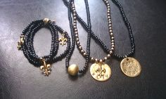 I can create any Saint's necklace and stamp any saying you want.  http://www.facebook.com/pages/Charmed/166361500118394