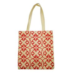 Suzie Qu Eco roll up bag in Geometric glamour Coral