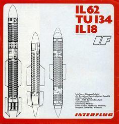 Interflug airline Brochure DDR 1980s   Flickr - Photo Sharing!