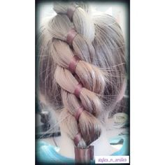4 strand ribbon braid