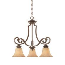 View the Designers Fountain 81883 Tuscan Three Light Down Lighting Chandelier from the Mendocino Collection at LightingDirect.com.